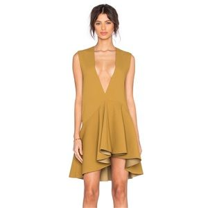 Solace London Madelyn Asymmetrical Mini Dress